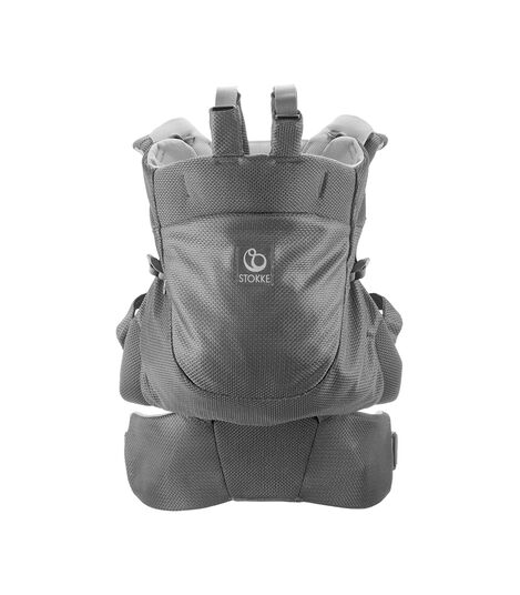 Stokke® MyCarrier™ Bæresele front & back Carrier Grey Mesh, Grey Mesh, mainview view 3