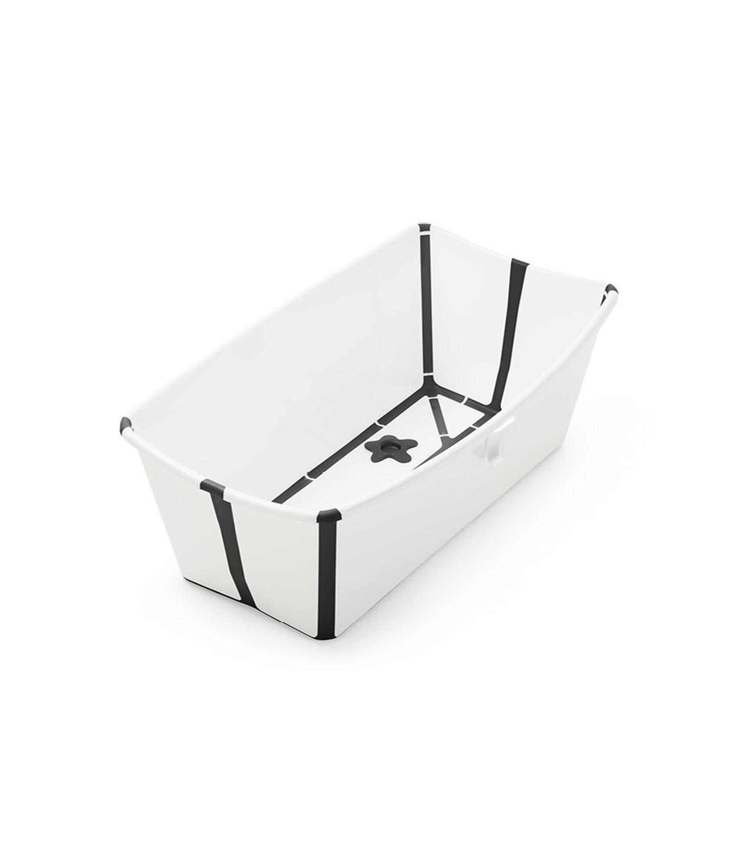 Stokke® Flexi Bath® bath tub, White Black Limited Edition.