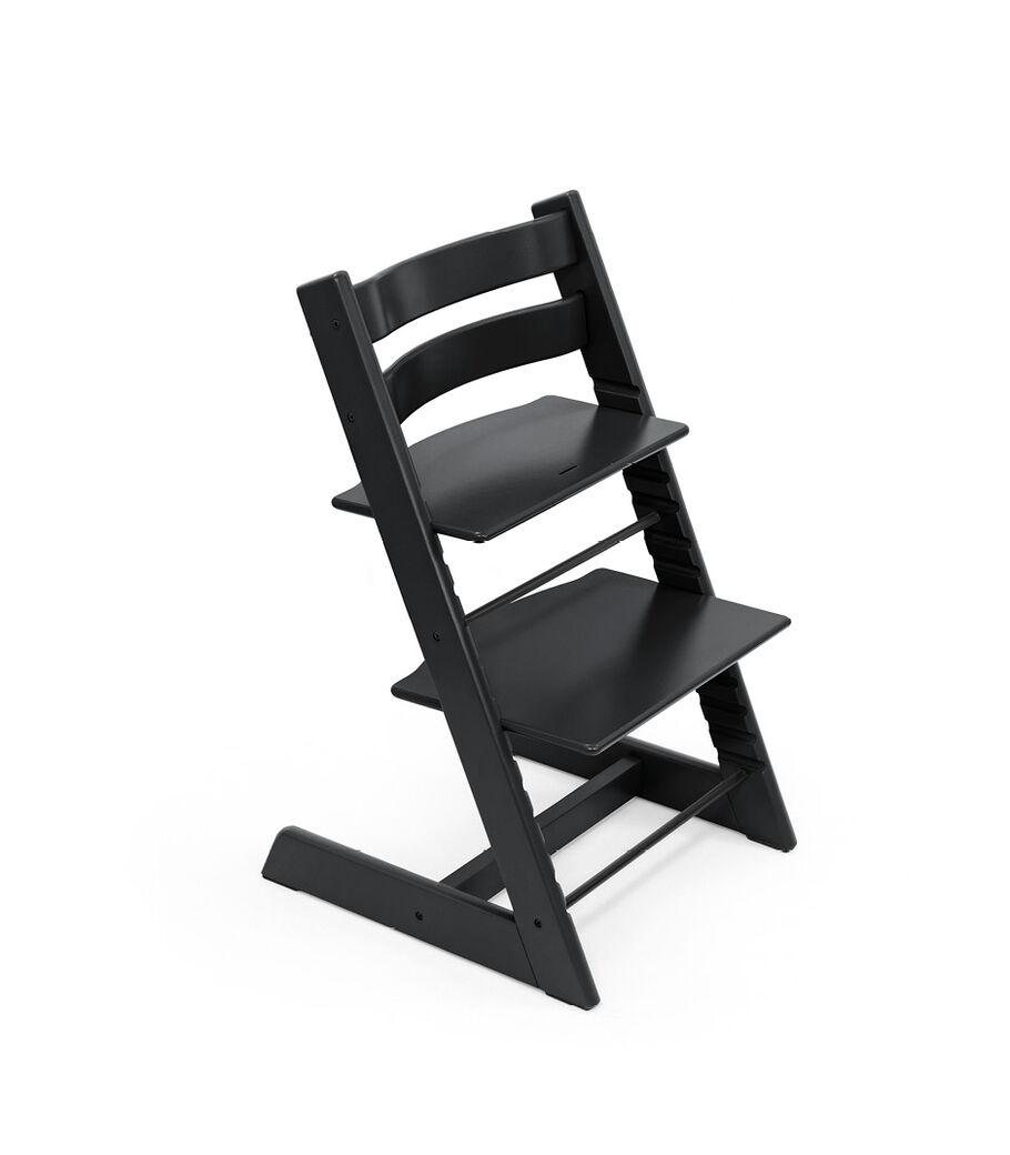 Tripp Trapp® chair Black, Beech Wood. view 4