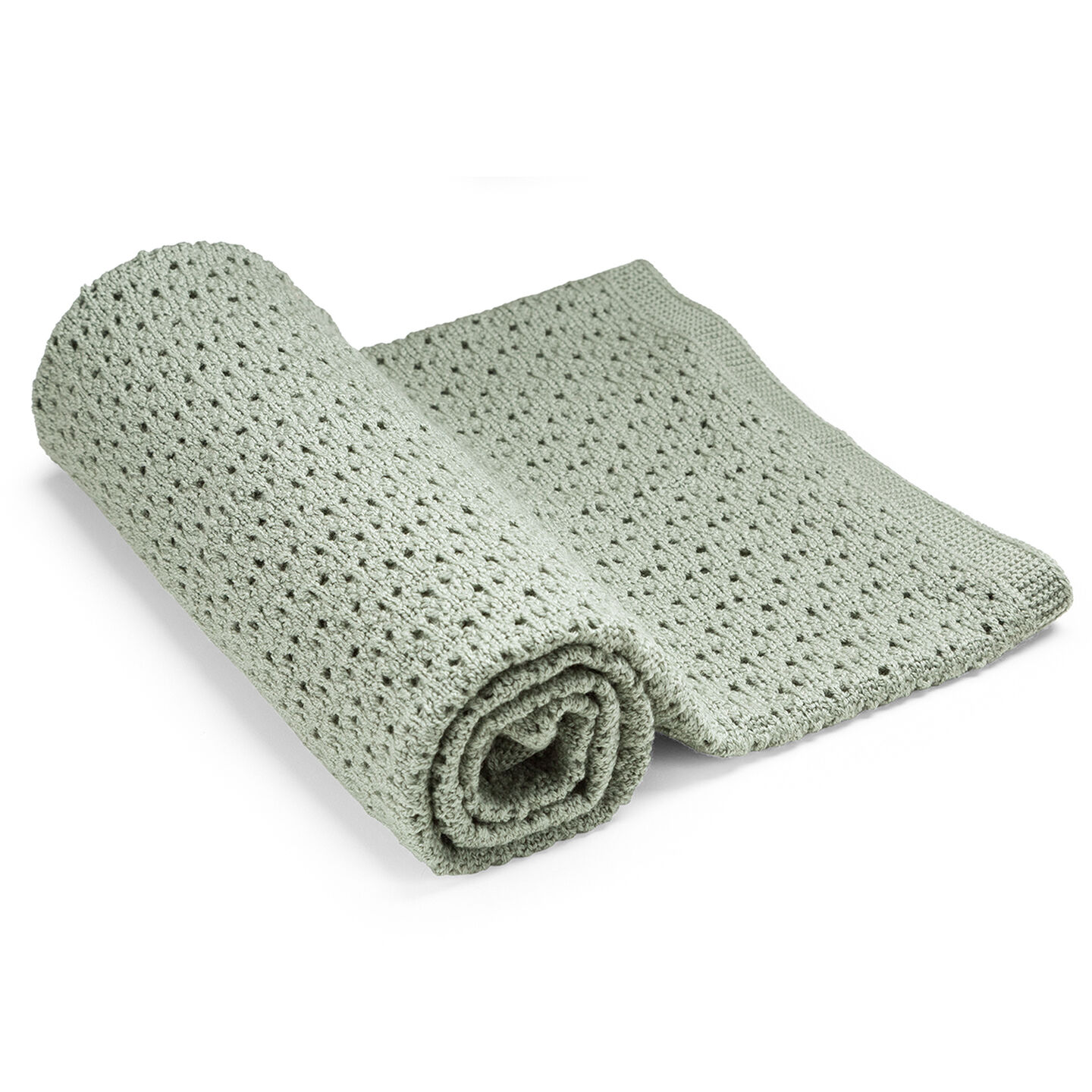 Stokke® Blanket Merino Wool Green, Green, mainview
