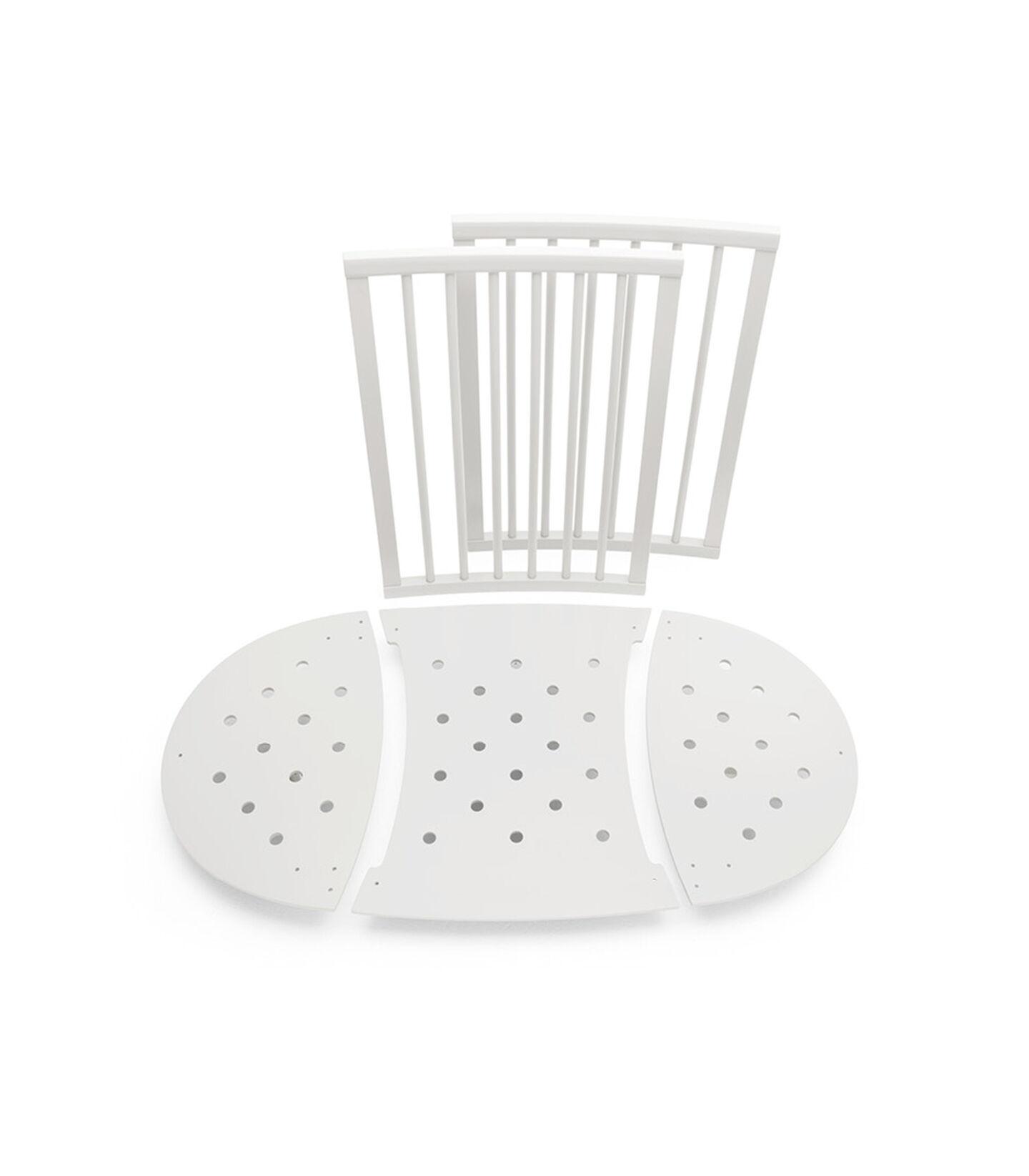 Stokke® Sleepi™ Bed Extension White, White, mainview view 1