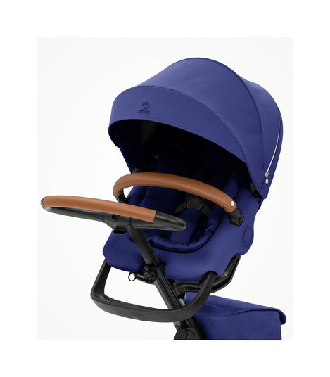 Stokke® Xplory® X Royal Blue Stroller with Seat. view 2