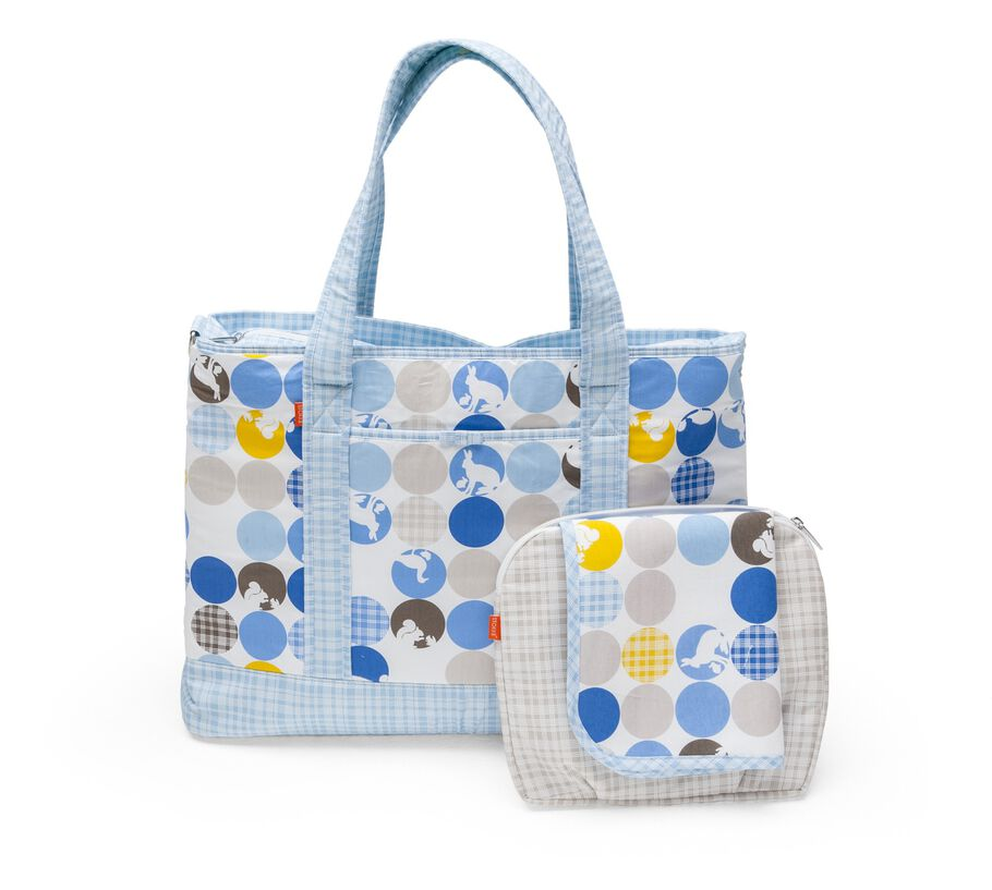 Nursery Bag, Silhouette Blue