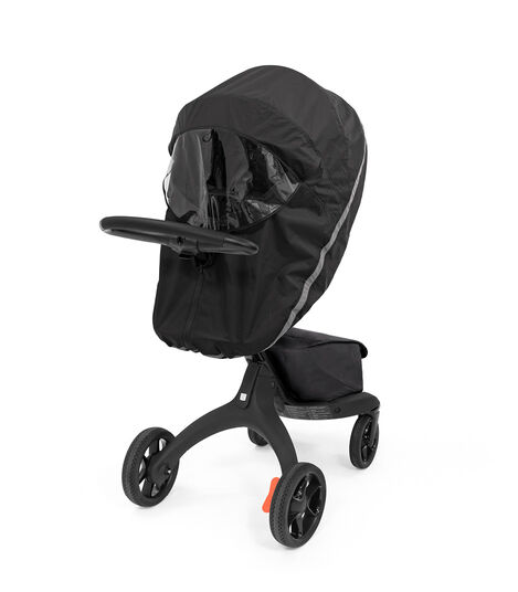 Stokke® Xplory® X Rain Cover Black, Black, mainview view 4