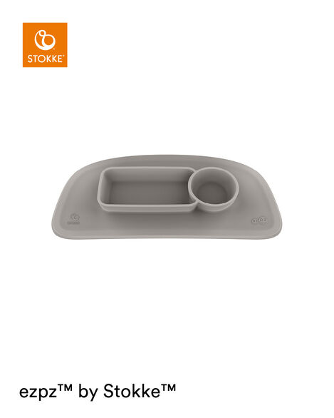 ezpz™ by Stokke™ placemat for Stokke® Tray Soft Grey, Gris Suave, mainview view 7