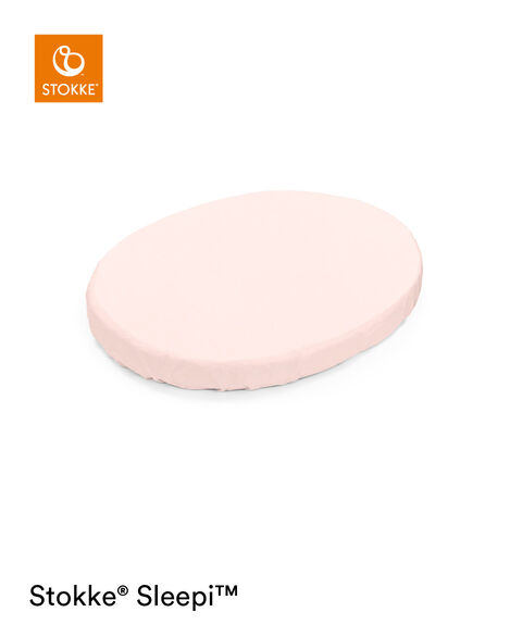 Lenzuolo con angoli Peachy Pink Stokke® Sleepi™ Mini, Peachy Pink, mainview view 6