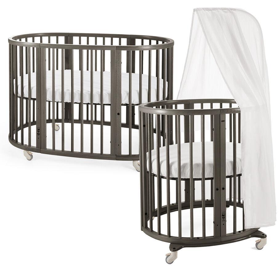 Stokke® Sleepi™ Mini and Bed. Hazy Grey