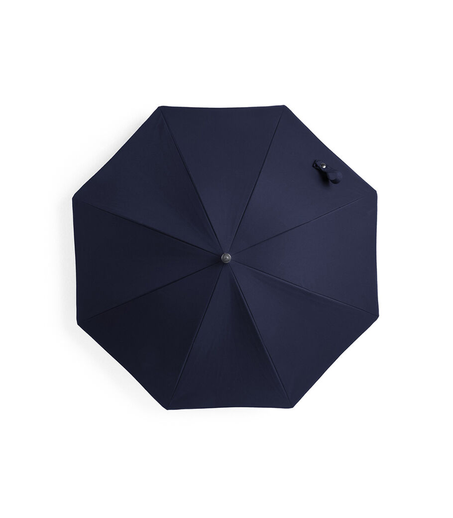 Stokke® Black Kinderwagen Parasol, Deep Blue, mainview view 9