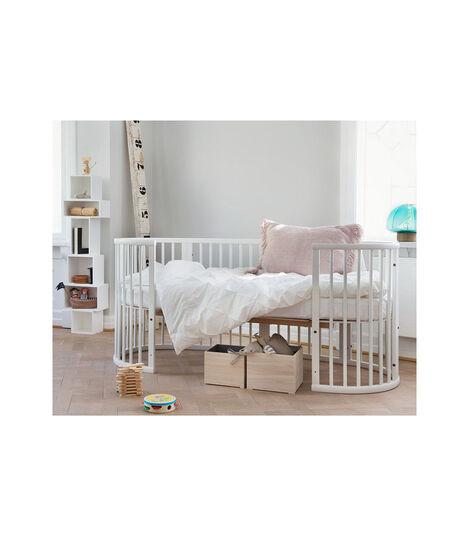 Stokke® Sleepi™ Junior Forlængersæt White, White, mainview view 2