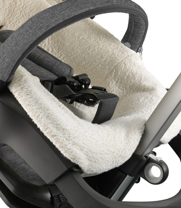 Stokke® kinderwagen badstoffen hoes voor zitje, , mainview view 1