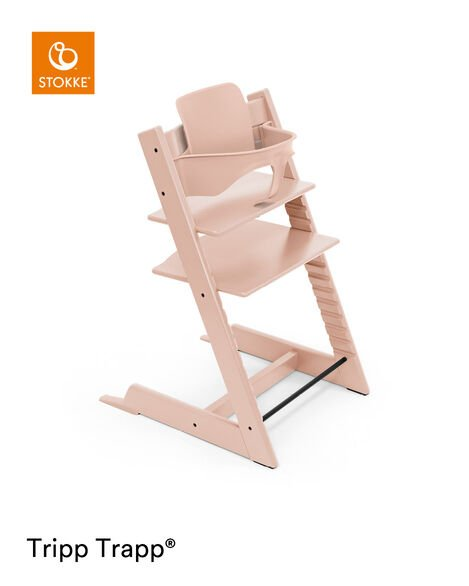 Tripp Trapp® Chair Serene Pink, Serene Pink, mainview view 9