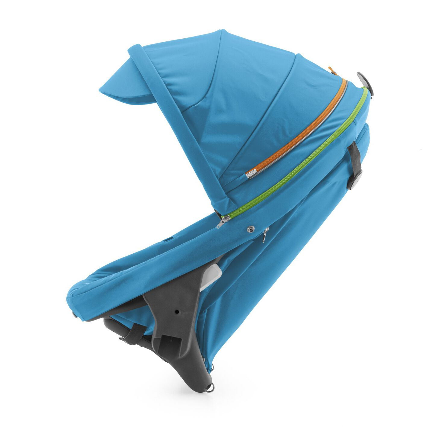 Stokke® Crusi™ Sibling Seat and sparepart seat for Stokke® Scoot™. Urban Blue.