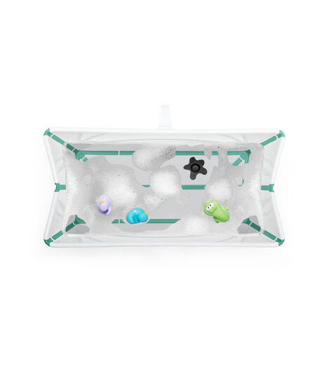 Stokke® Flexi Bath® Heat Bundle White Aqua, Blanc Aqua, mainview view 4