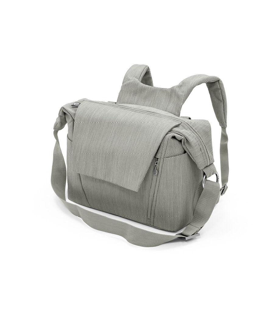 Stokke® Stroller Changing Bag, Brushed Grey. view 27