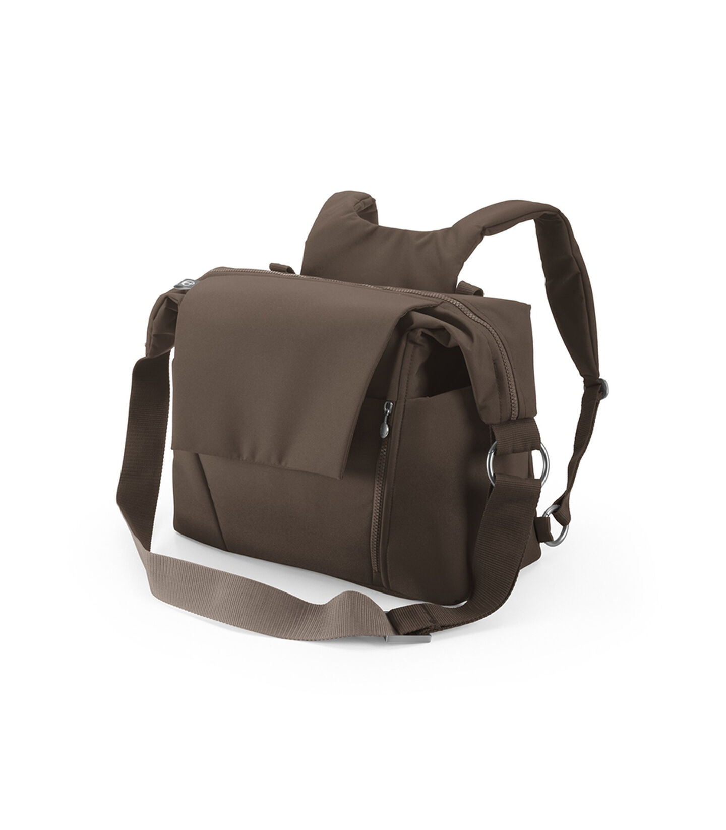 Stokke® Stroller Changing Bag, Brown.