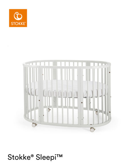 Stokke® Sleepi™ Bed Extension Blanc, Blanc, mainview view 7