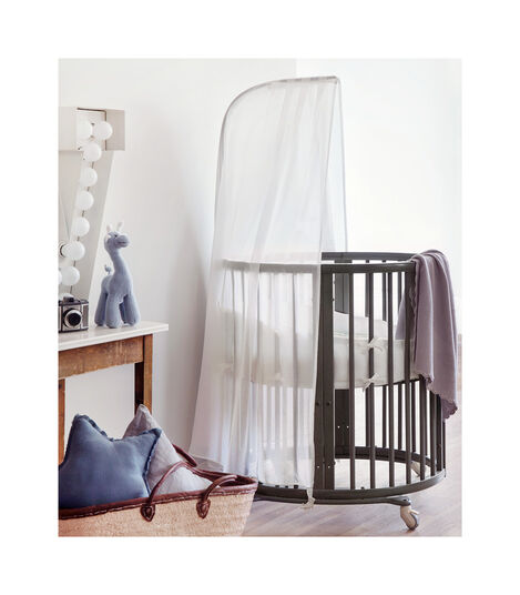 Stokke® Sleepi™ Drape rod Hazy Grey, Gris Brume, mainview view 3