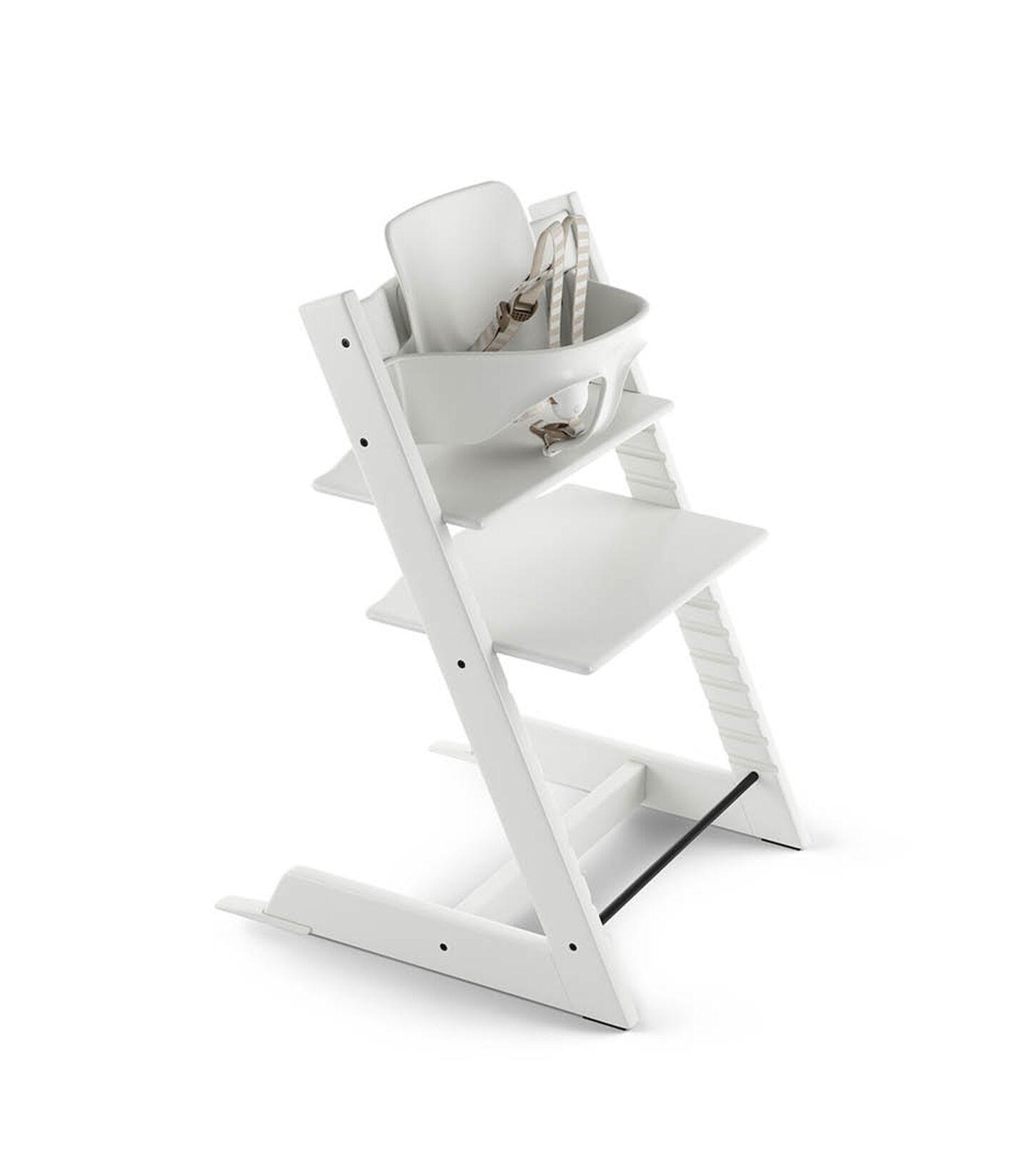 Tripp Trapp® Bundle High Chair US 18 White, White, mainview view 1