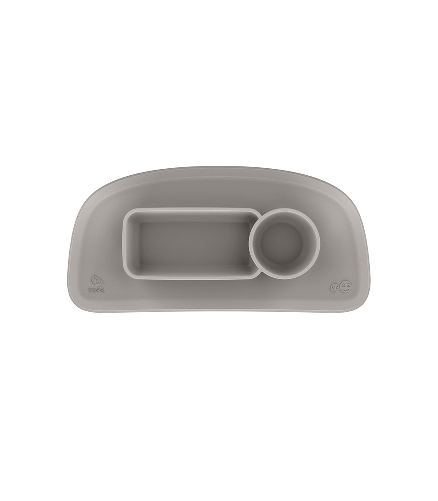 ezpz™ by Stokke™ placemat for Stokke® Tray Soft Grey, Soft Grey, mainview view 2