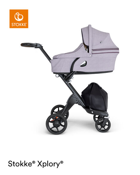 Stokke® Xplory® Carry Cot Complete Brushed Lilac, Lila, mainview view 9