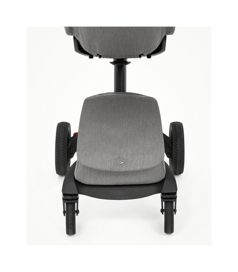Stokke® Xplory® X Modern Grey Stroller with Seat. Zoomed. view 4