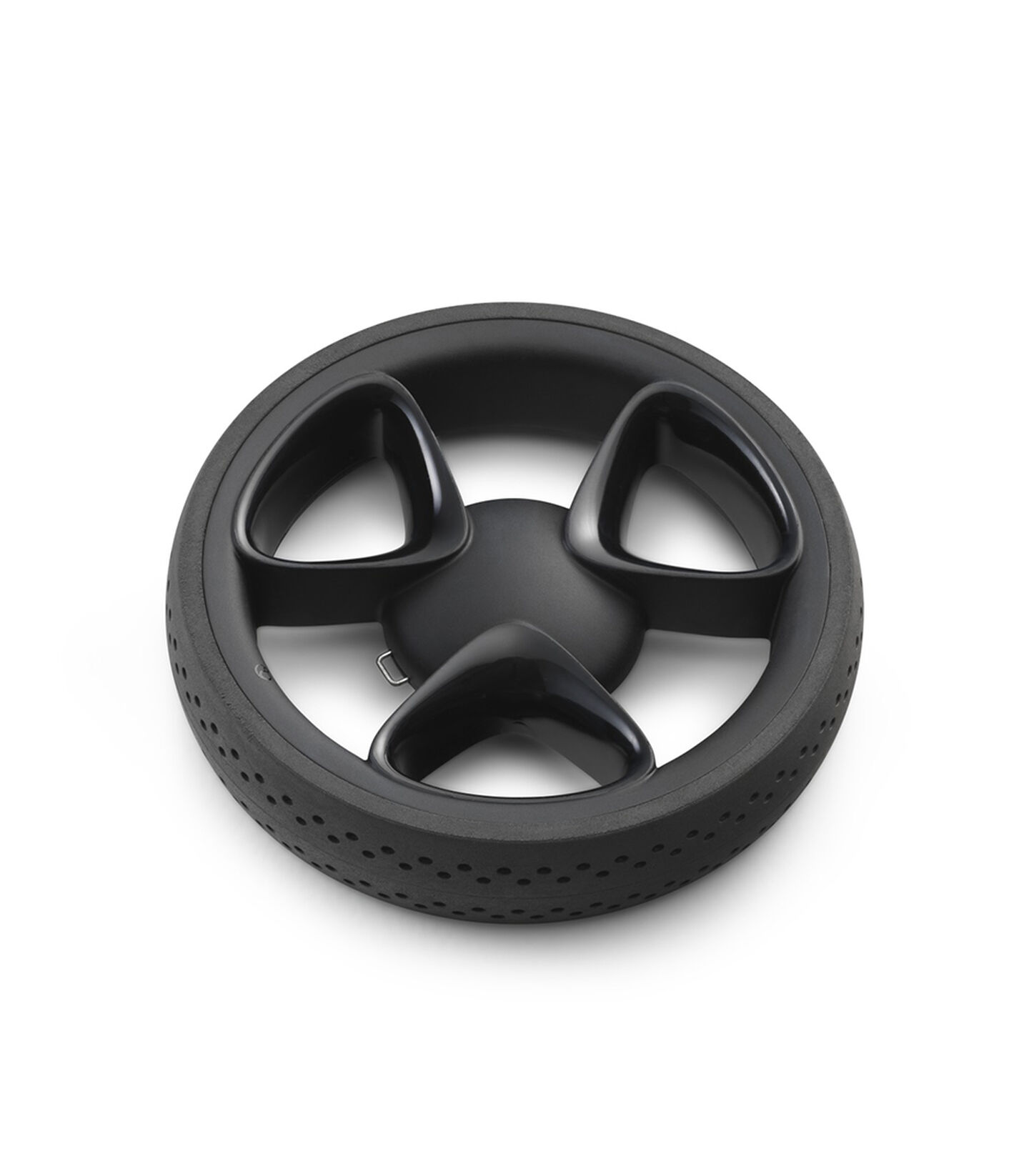 Stokke® Xplory® Back wheel complete Black, Black, mainview view 1