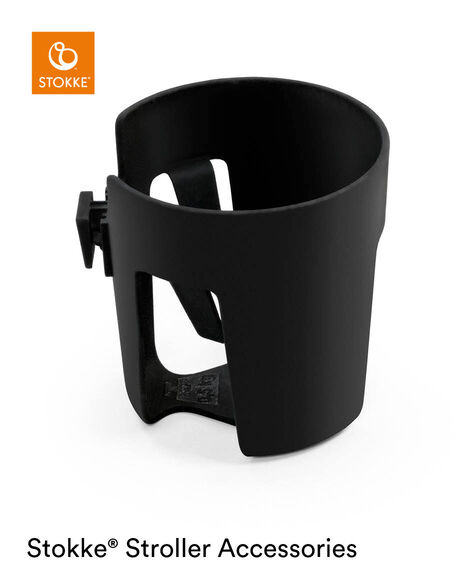 Stokke® Stroller Cup Holder Black, , mainview view 4