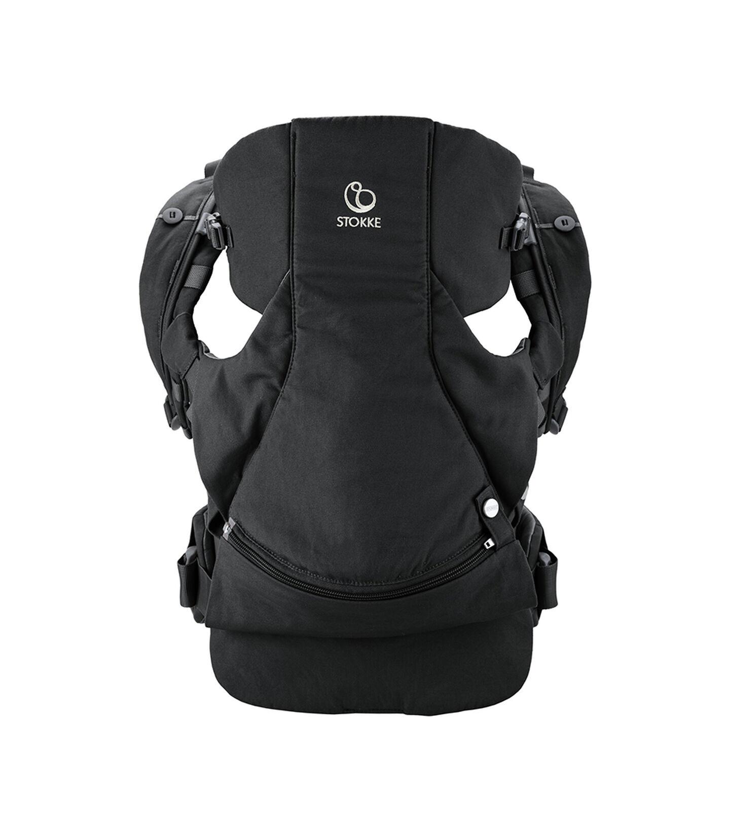 Stokke® MyCarrier™ front- og ryggbærestykke Black, Black, mainview view 1