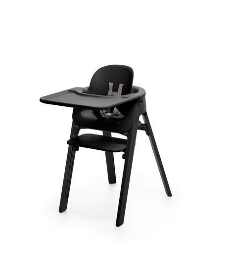 Krzesło Stokke® Steps™ Black, Black, mainview view 4