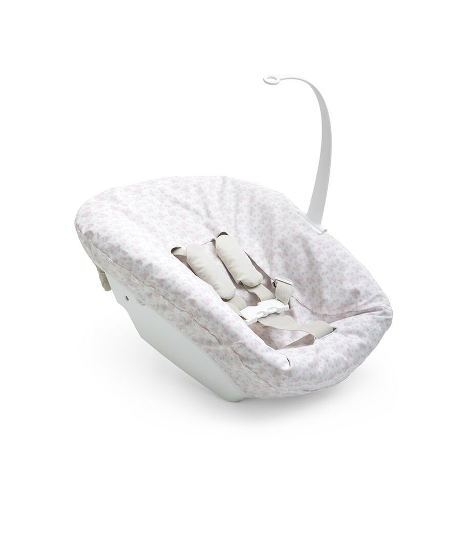 Tripp Trapp® Newborn Set with Pink Cover.
