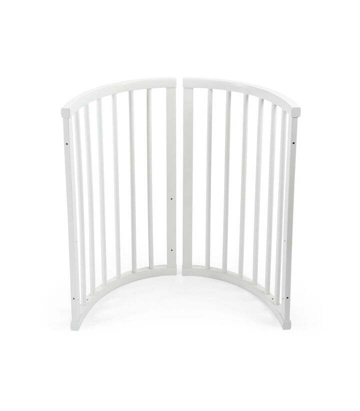 Stokke® Sleepi™ End section R, Bianco, mainview view 1