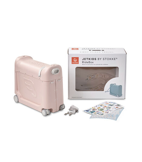 JetKids by Stokke® RideBox Pink, Rose Limonade, mainview view 7