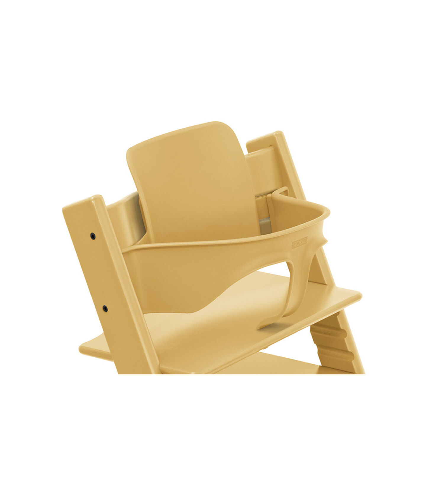 Tripp Trapp® High Chair Sunflower Yellow, with Baby Set. view 1