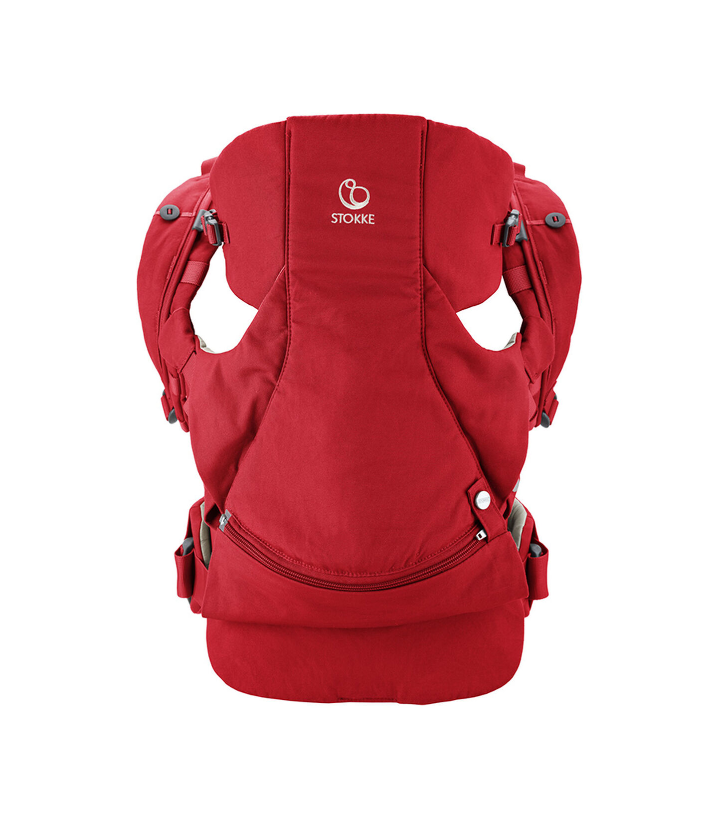 Stokke® MyCarrier™ Bauchtrage Red, Red, mainview view 1
