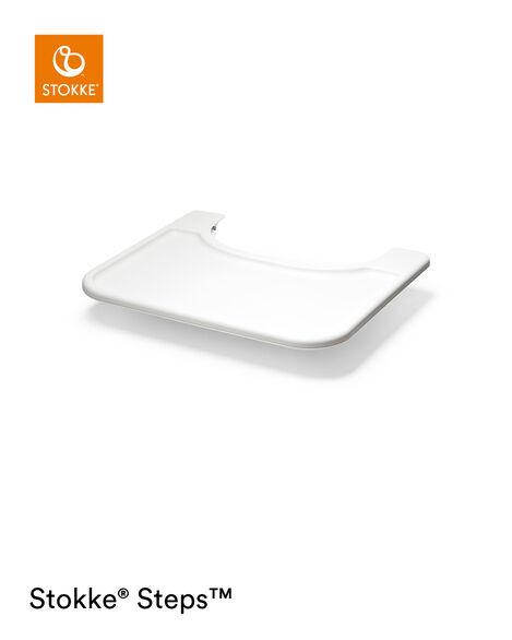 Stokke® Steps™ Baby Set Tray White, White, mainview view 5