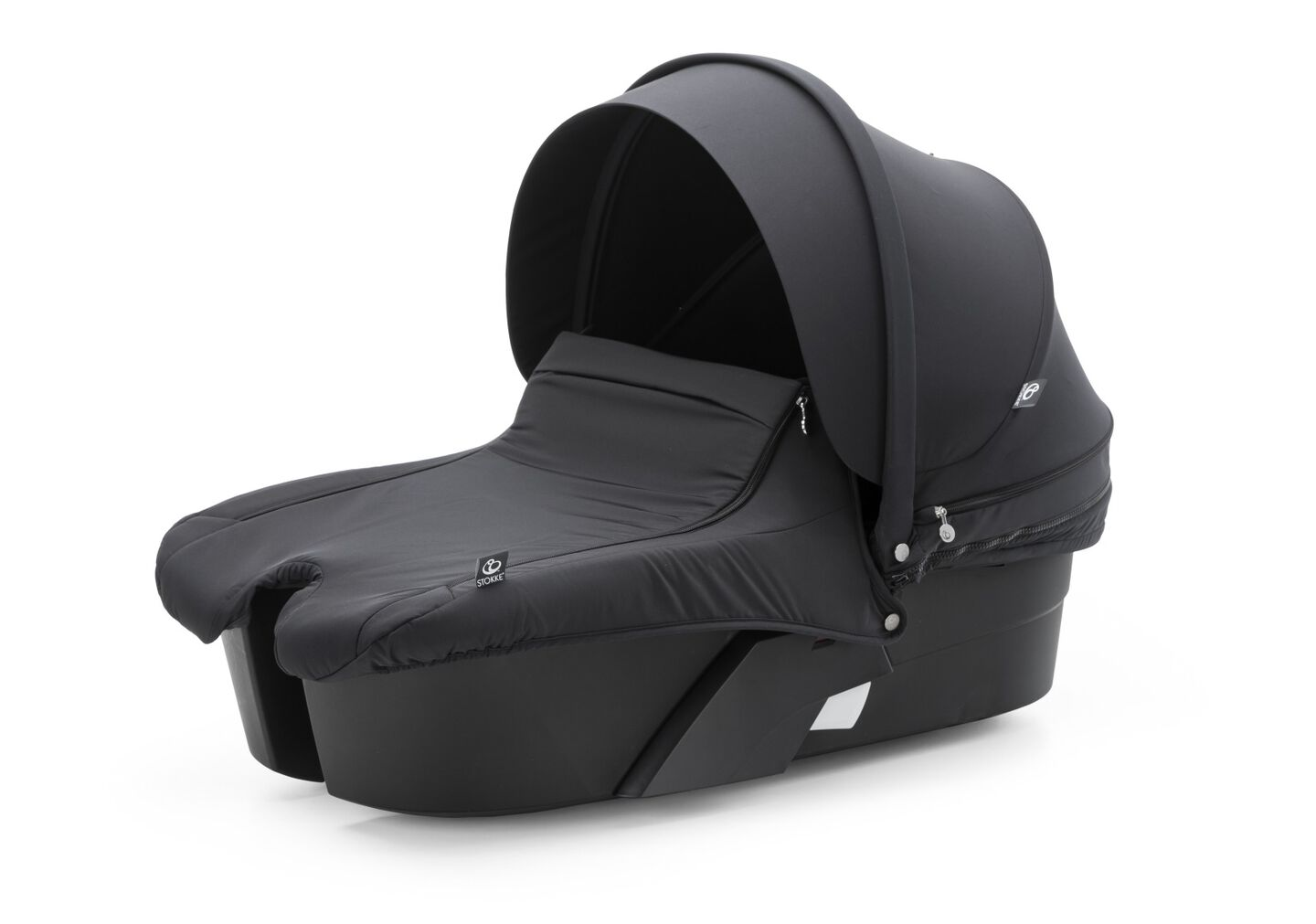 Stokke® Xplory® Carry Cot, True Black.