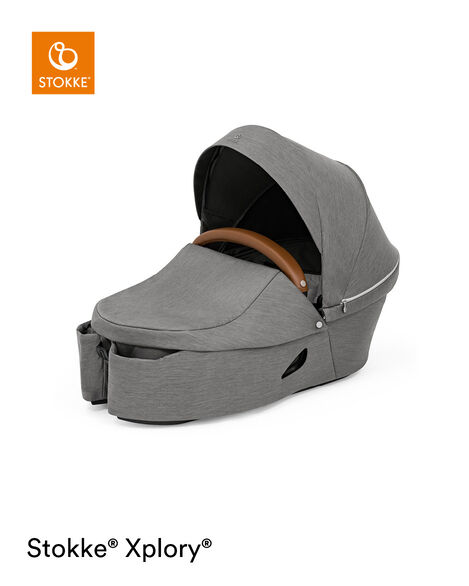 Stokke® Xplory® X Carry Cot Modern Grey, Modern Grey, mainview view 8