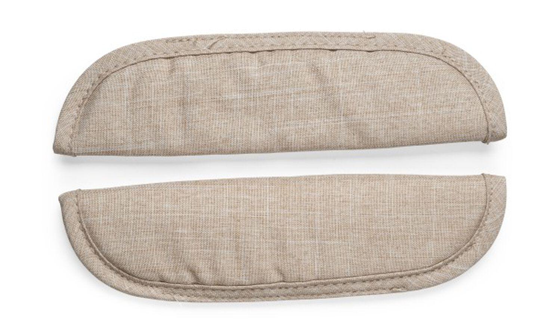 Stokke® Xplory® Schouder-pads voor veiligheidstuigje Beige Mélange, Beige Melange, mainview view 2