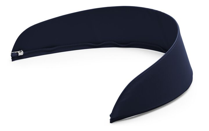 Stokke® Stroller Seat Spare part. 184116 Stroller Visor for Hood, Deep blue.
