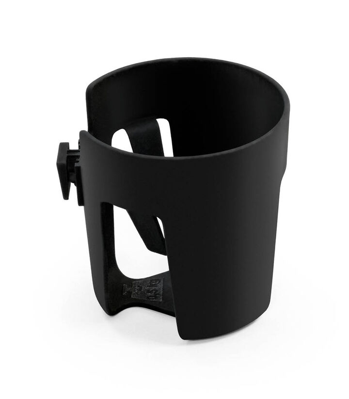 Stokke® Stroller Cup Holder, Black. view 1