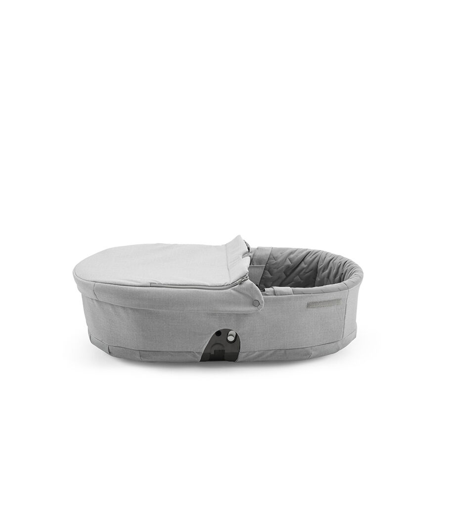 Stokke® Scoot™ Carry Cot, Grey Melange. view 38