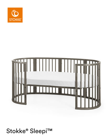 Stokke® Sleepi™ Junior Extension Hazy Grey, Hazy Grey, mainview view 9