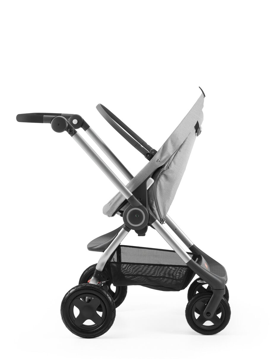 Stokke® Scoot™ Seat without Canopy, Grey Melange.
