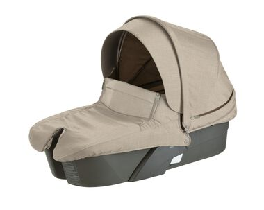 Accessories. Stokke® Xplory® Carry Cot, Beige Melange.