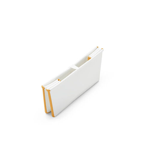 Stokke® Flexi Bath® bath tub, White and Yellow. Folded. view 5