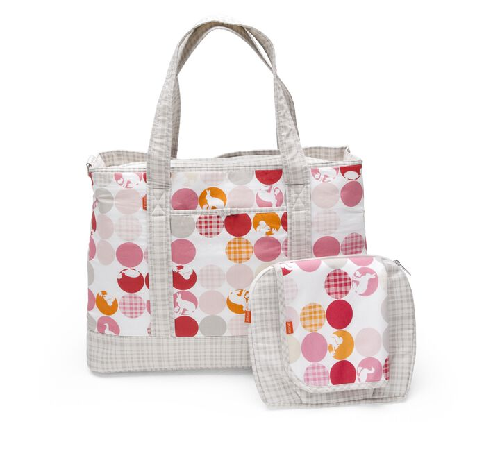 Nursery Bag, Silhouette Pink