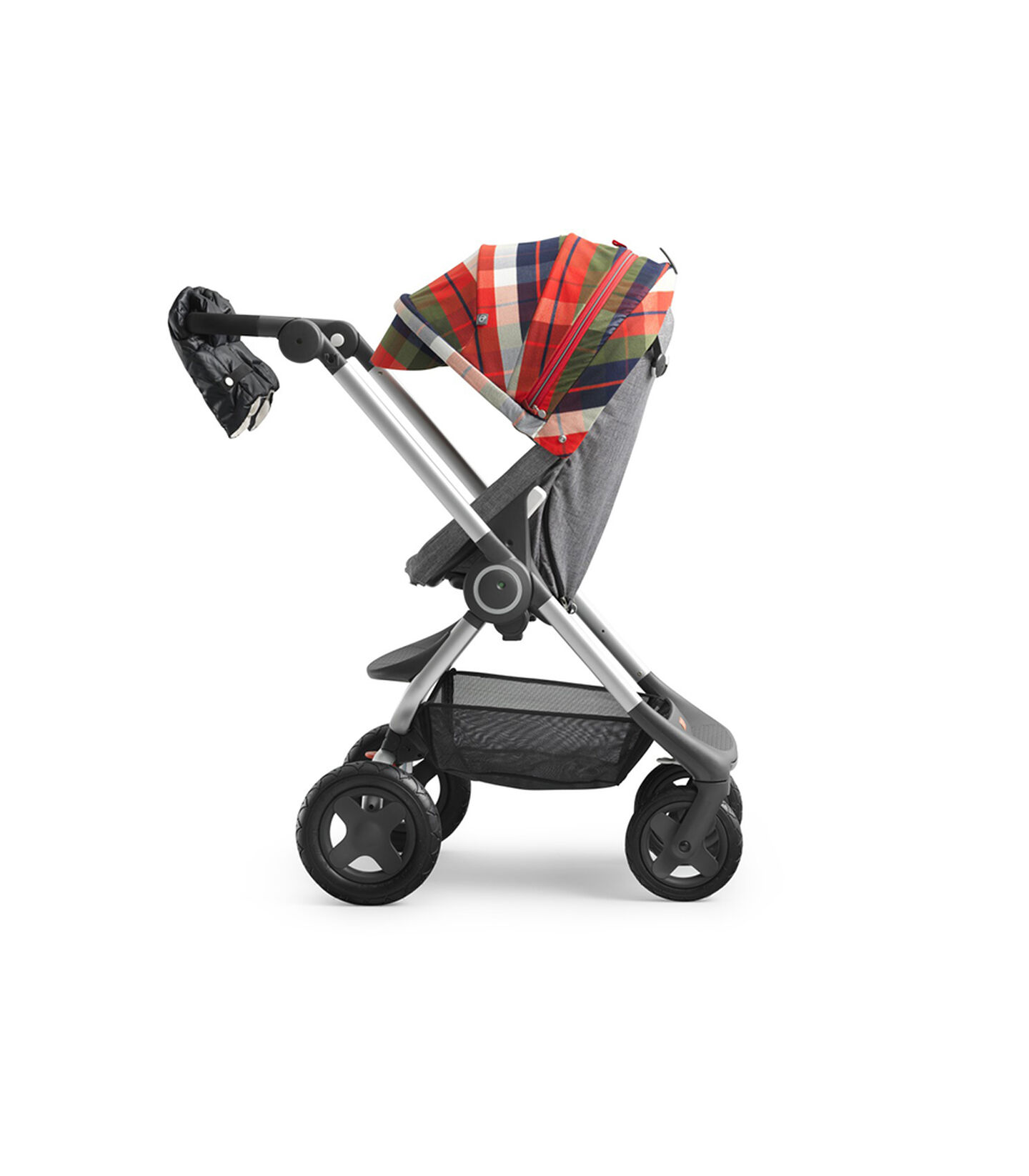 Stokke® Scoot™ Winter Kit Flannel Red.