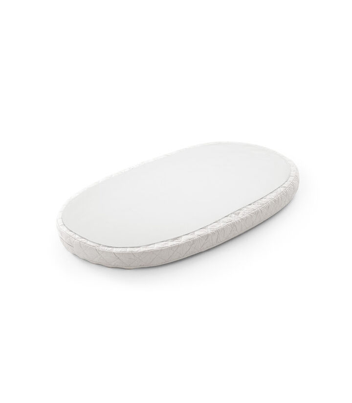 Stokke® Sleepi™ Bed Protection Sheet. White view 1