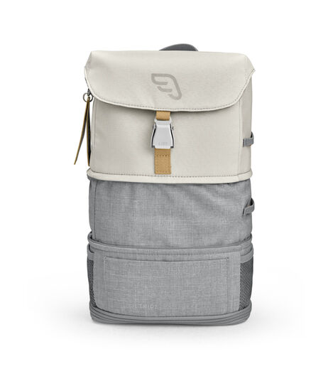 JetKids by Stokke® Crew Backpack Blanc, Blanc, mainview view 4