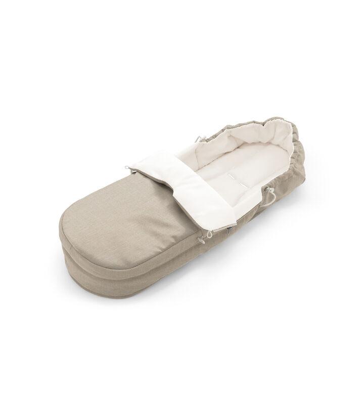 Accessories. Soft Bag, Beige Melange.